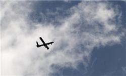 اخطار پدافند هوایی ایران به یک پهپاد رادارگریز آمریکایی