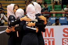دختران ایرانی والیبال چین تایپه را شکست داد