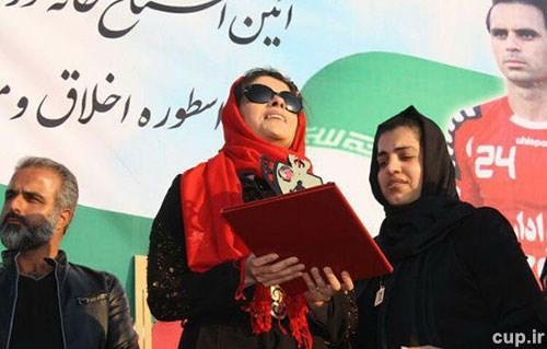 پیغام خانم هنرمند به رامین رضاییان+ عکس
