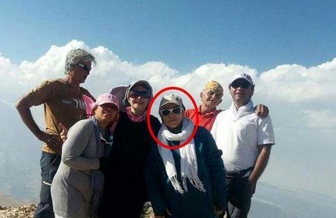 دختر کوهنوردی ایرانی که یک شبانه روز در میان کوهها و گرگها بود+عکس