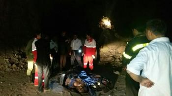 مرگ دو کارگر معدن به علت ریزش در بردسکن+عکس