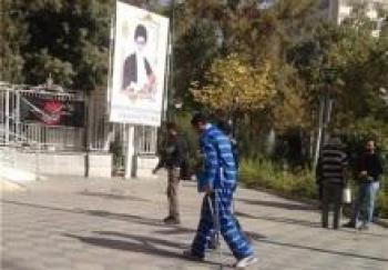 پای همسر مهناز افشار در زندان شکست