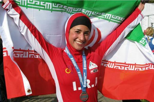 بانوی ورزشکار ایرانی مقیم لندن: دوست دارم ثابت کنم حجاب محدودیت نیست
