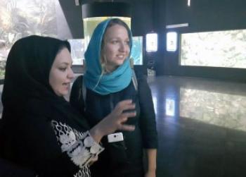 گردشگر زن اسلواکی برای شهردار اصفهان نامه نوشت