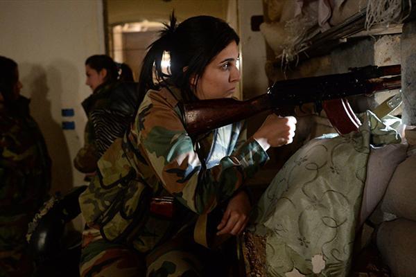 دختران نوجوانی که ایران به خط مقدم جنگ سوریه می فرستد! +عکس