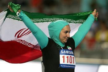 جدیدترین تصمیم دختر ورزشکار ایرانی که متهم به کم غیرتی شد!