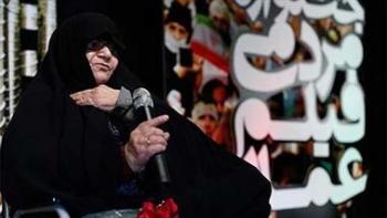 دعوت مجدد «ننه عصمت» از بانوان ایرانی برای یاری مدافعان حرم