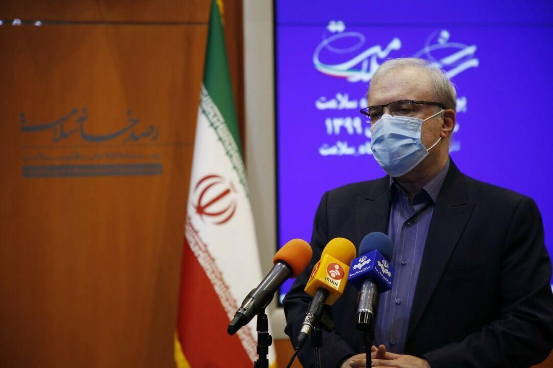 انتقاد شدید وزیر بهداشت از نبستن مرزها؛ حالا باید طوفان کرونا را انتظار بکشیم
