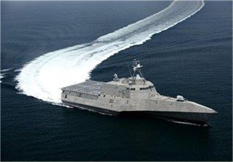شلیک هشدارآمیز نیروی دریایی آمریکا به قایقهای تندرو سپاه