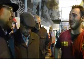 درد و دل و گریههای یک آتش نشان در حضور شهردار تهران و نماینده رهبری + فیلم