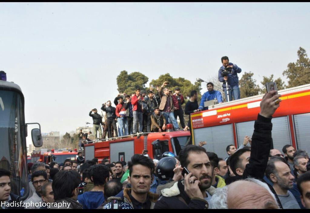 تصاویری حیرت آور و تاسف بار از حادثه پلاسکو اما نه از آتش سوزی و فروریختن ساختمان!!!