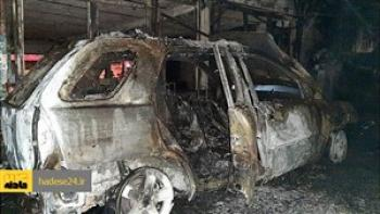 آتش زدن خودروی همسر سابق با کمک آتش افزوران اجاره ای