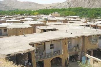 روستایی عجیب، بدون داشتن کوچه و خیابان در ایران + تصاویر