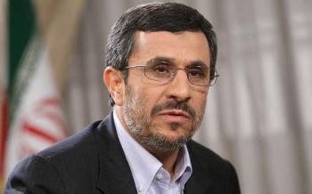 احمدی نژاد: با صدای بلند و با افتخار می گویم که یک ایرانی هستم/ شیطان همه عوامل خود را از داخل و خارج فراخوان کرده