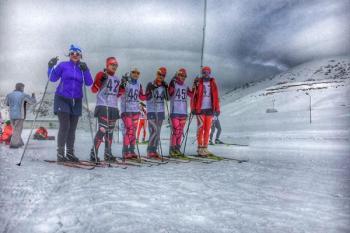 وضع زننده حجاب بانوان ایرانی برای حضور در رقابت های اسکی + عکس