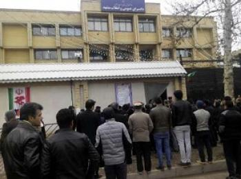 تجمع اعتراضی سپردهگذاران کاسپین در مشهد