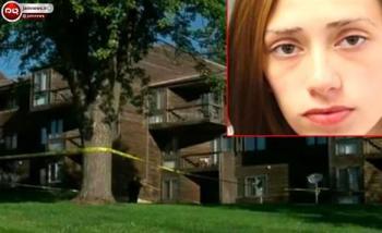 دختر 16 ساله ای بدنبال زایمان مخفیانه بچه اش را از پنجره بیرون انداخت + عکس
