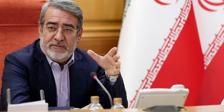 وزیر کشور: وضعیت خوزستان از امروز «ویژه» اعلام شد/ دستگاهها امکانات خود را به این استان سرازیر کنند