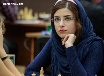 کشف حجاب  شطرنج باز ایرانی در مسابقات جبل الطارق+عکس