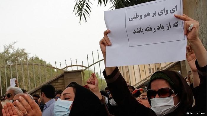 عکس گرفتن دولتیها با آوار پلاسکو و تنها گذاشتن مردم خوزستان در گردوخاک + تصاویر