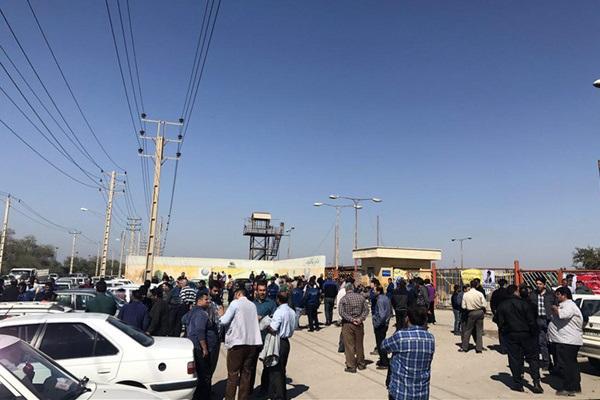 اعتراض کارگران «گروه ملی فولاد اهواز» به پانزدهمین روز متوالی رسید