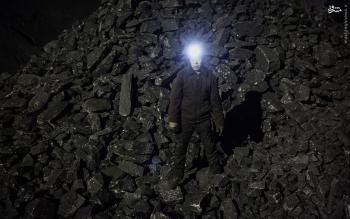 تجمع کارگران معدن زغال سنگ نگین طبس به دلیل معوقات مزدی