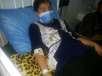 تنبیه معلم دانش آموز دختر  را در بیمارستان بستری کرد + تصاویر