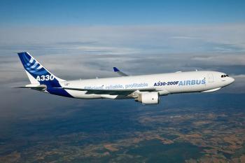 ایرباس A 330 در فرودگاه مهرآباد به زمین نشست