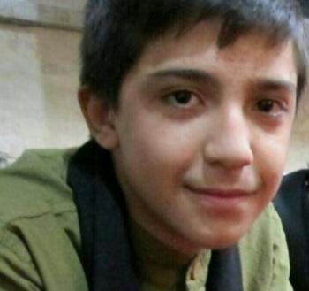 عکس/امیر حسین 14 ساله نخستین قربانی چهارشنبه سوری تهران+جزئیات حادثه