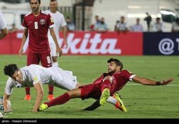 شعار انگلیسی قطریها برای مقابله با ایران +عکس