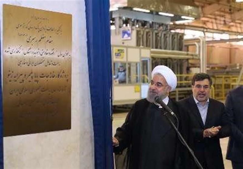 افتتاح نمایشی و انتخاباتی کارخانهای که ۲ سال پیش ساخته شد + عکس