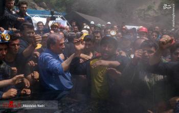 واکنش روحانی و وزیر کار  به اعتراض کارگران معدن یورت گلستان/تصاویر