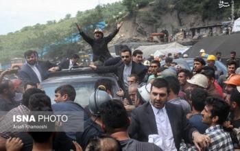 حملات گازانبری روحانی علیه 22 میلیون کارگر/ کارگران معدن چرا بر سر روحانی فریاد کشیدند؟