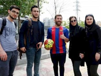پای بدل مسی در ایران به کلانتری باز شد+عکس