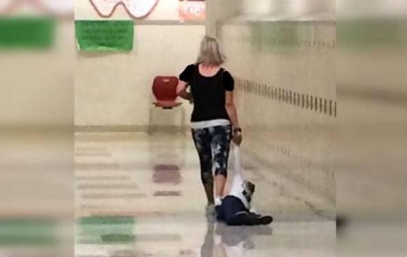 کار بسیار زشتی که معلم زن با شاگردش کرد! +عکس