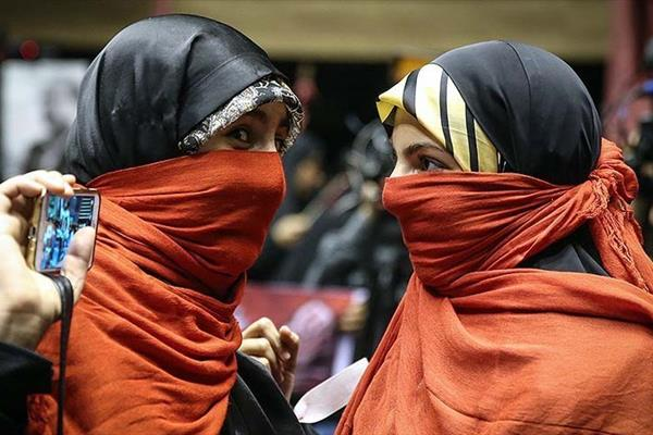 دختران دوآتیشه در انتخابات 96 ایران + عکس