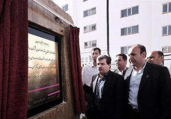 «روح وزیر راه» مسکن مهر پردیس را افتتاح کرد!