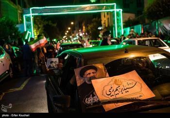 حمله به ستاد مرکزی حجتالاسلام رئیسی در شیراز/ستاد تعطیل شد