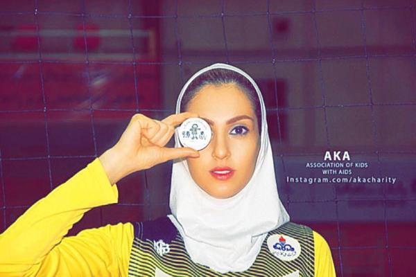 واکنش جالب همسر کاوه رضایی به گل با ارزش همسرش +عکس
