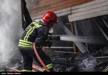 حادثه در پارس جنوبی / آتش در دقایق اولیه خاموش شد