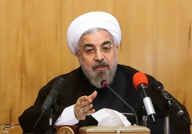 روحانی: به حرف دشمن درباره قدرت موشکی ایران اعتنا نمیکنیم/ هرچه نیاز باشد درست میکنیم