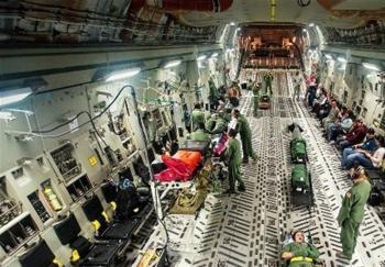ترمز نخستین بیمارستان هوایی ایران کشیده شد