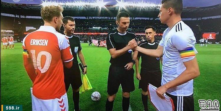 پخش زنده فوتبال در حمایت از همجنس بازان از شبکه سوم سیما!!!+عکس