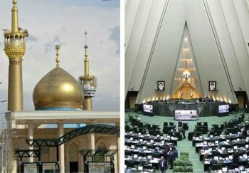 پوشش زنده/ تیراندازی در راهروهای مجلس و حرم امام/ تروریستها در حال تیراندازی از داخل مجلس به بیرون هستند/ جزئیات جدید از عملیات تروریستی در حرم امام + تصاویر