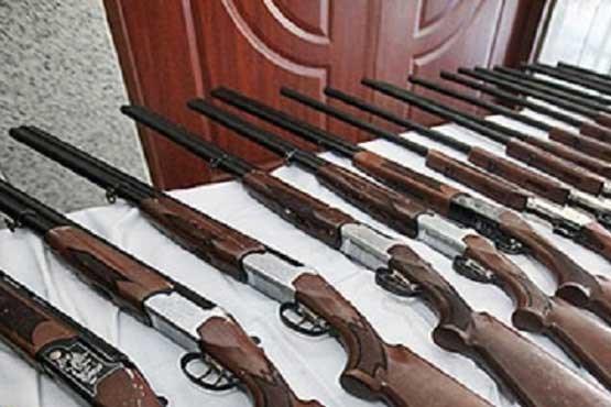 چندین قبضه اسلحه در کرمان کشف شد
