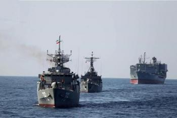 دو ناو جنگی ایران آماده حرکت شد