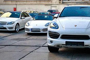 خودروهای لوکس قاچاق به وزارت خارجه رسید