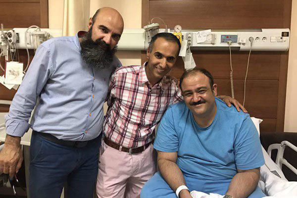 آخرین وضعیت مهران غفوریان بعد از جراحی امروز