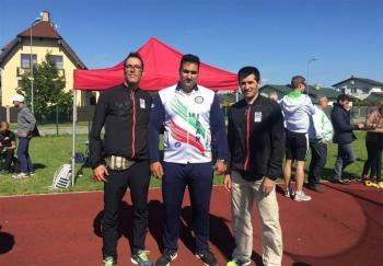 تقدیم اولین مدال طلای کاروان ورزش کارگری ایران به شهدای مدافع حرم