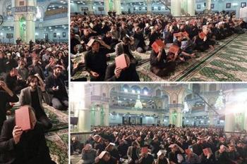 یک فرد  فریاد «الله اکبرِ» کشید، احیاکنندگان شب قدر متفرق شدند!+جزئیات